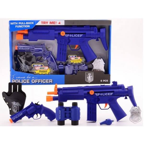 Policijski set Deluxe 6pcs 26010 - ODDO igračke