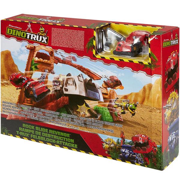 Dinotrux Rock Slide Revenge set 31x40cm DWC84 - ODDO igračke