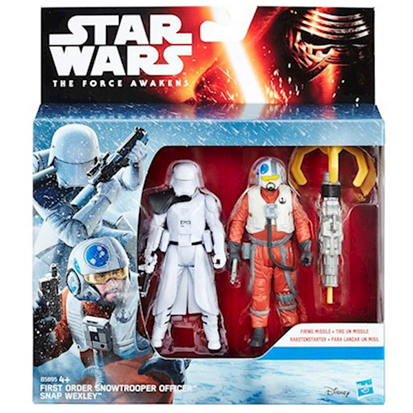 Star Wars The Force Awakens Snowtrooper Officer i Snap Wexley B5895 - ODDO igračke