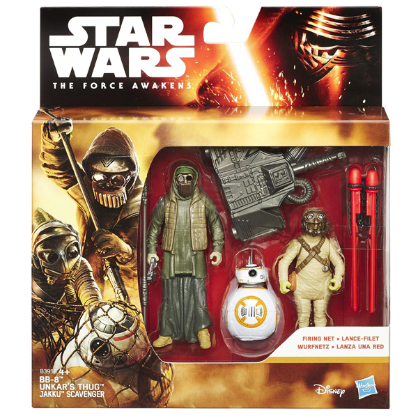 Star Wars The Force Awakens BB-8 Unkars Thug i Jakku Scavenger B3956  - ODDO igračke