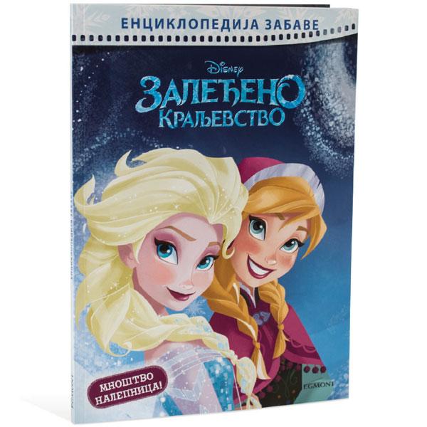 Disney Zaledjeno Kraljevstvo Enciklopedija EGM1008 - ODDO igračke