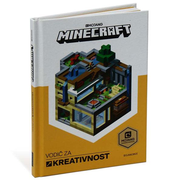 Minecraft Vodič Za Kreativnost EGM1009 - ODDO igračke