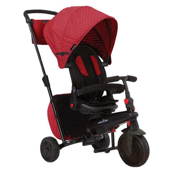 Tricikli sa ručkom i tendom Smart Trike Folding 700 crveni 5500500 - ODDO igračke
