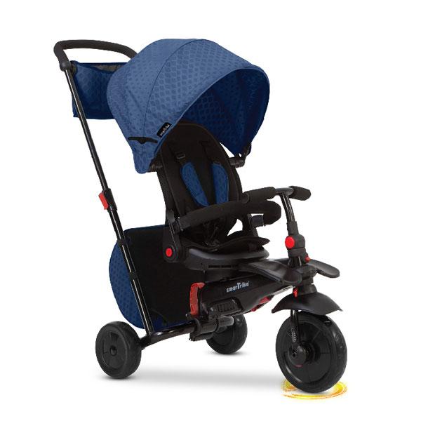Tricikli sa ručkom i tendom Smart Trike Folding 700 crveni 5500800 - ODDO igračke