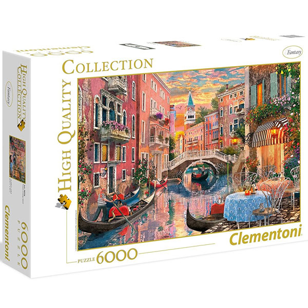 Clementoni puzzla Venice Evening Sunset 6000pcs 36524 - ODDO igračke