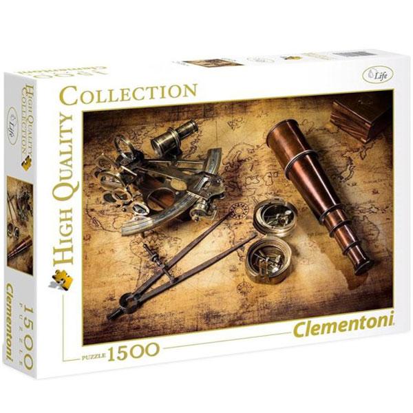 Clementoni puzzla Course On The Treasure 1500pcs 31808 - ODDO igračke