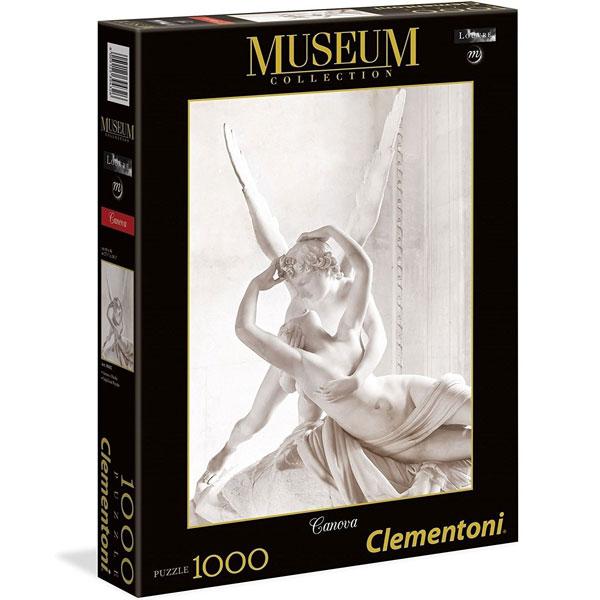 Clementoni puzzla Canova Amor and Psyche 1000pcs 39432 - ODDO igračke