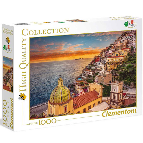Clementoni puzzla Positano 1000pcs 39451 - ODDO igračke