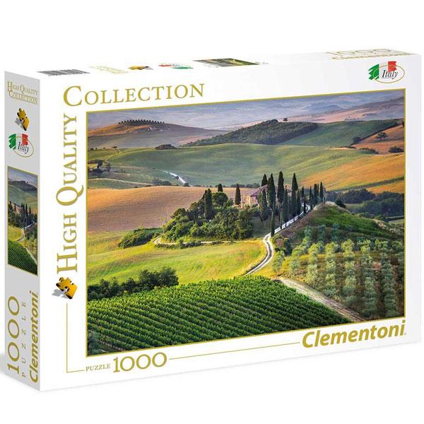 Clementoni puzzla Toscane 1000pcs 39456 - ODDO igračke