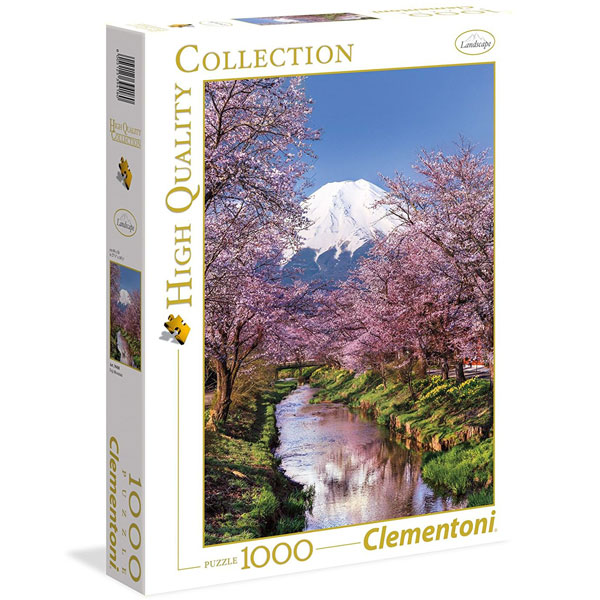 Clementoni puzzla Fuji 1000pcs 39418 - ODDO igračke