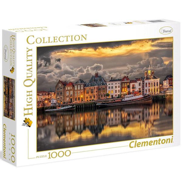 Clementoni puzzla Dutch Dream World 1000pcs 39421 - ODDO igračke