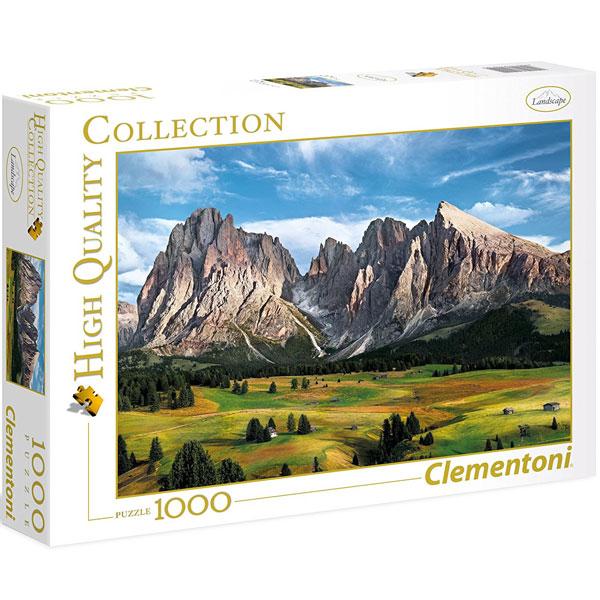 Clementoni puzzla The Coronation Of The Alps 1000pcs 39414  - ODDO igračke