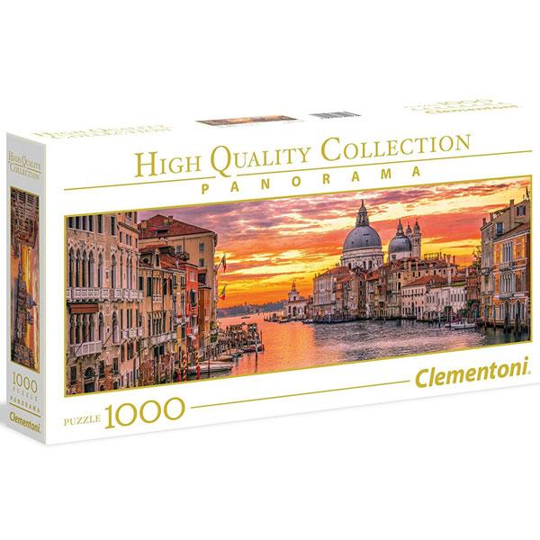 Clementoni puzzla Panorama The Grand Canal Venice 1000pcs 39426 - ODDO igračke
