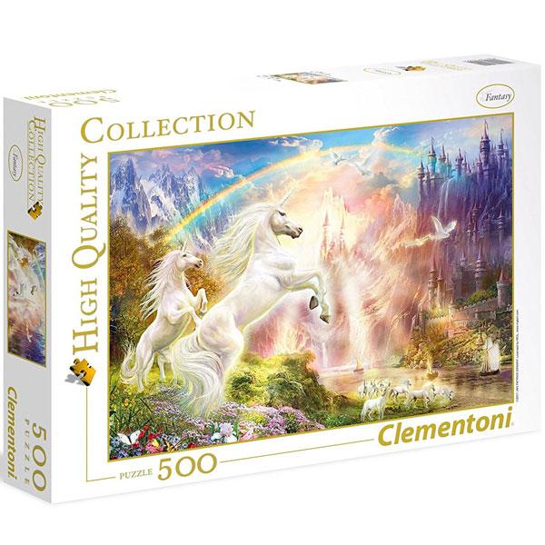 Clementoni puzzla Unicorns at sunrise 500pcs 35054 - ODDO igračke