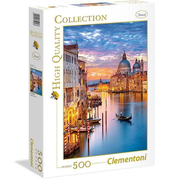 Clementoni puzzla Lighting Venice 500pcs 35056 - ODDO igračke