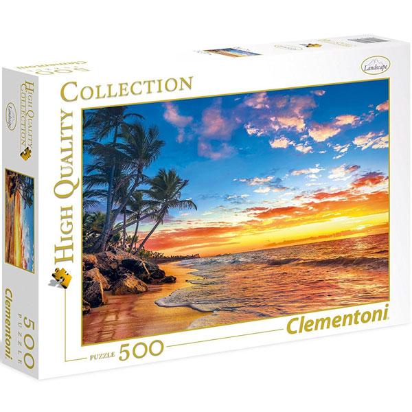 Clementoni puzzla Paradise Beach 500pcs 35058 - ODDO igračke
