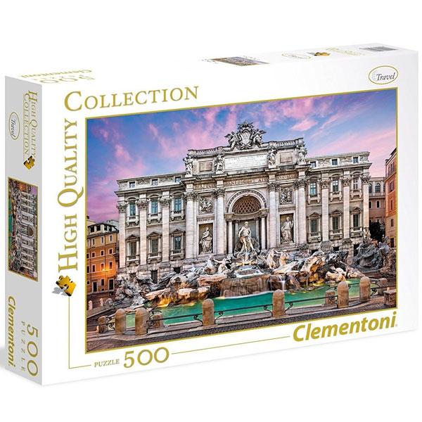 Clementoni puzzla Fontana di Trevi 500pcs 35047 - ODDO igračke