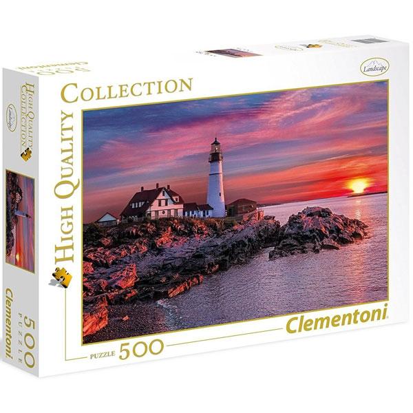 Clementoni puzzla Portland Head Light 500pcs 35049 - ODDO igračke