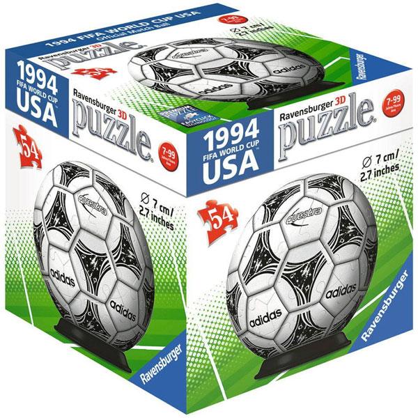 Ravensburger 3D puzzle (slagalice) Fudbalska lopta RA11937 - ODDO igračke