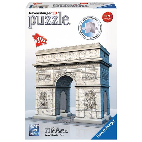 Ravensburger 3D puzzle (slagalice) Triumfalna kapija u Parizu RA12514 - ODDO igračke