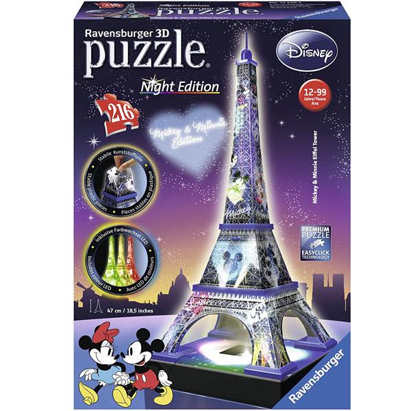 Ravensburger 3D puzzle (slagalice) Disney Ajfelov toranj RA12520 - ODDO igračke