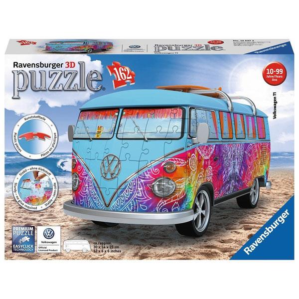 Ravensburger 3D puzzle (slagalice) 162pcs Volkswagen kombi Indijsko leto RA12527 - ODDO igračke