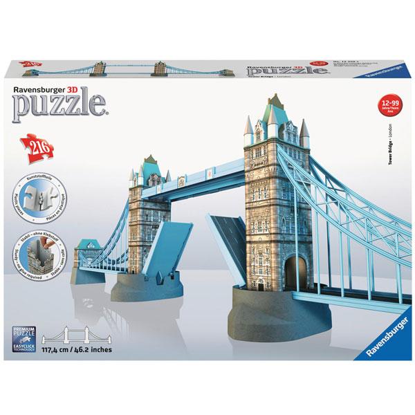 Ravensburger 3D puzzle (slagalice) Most 216pcs RA12559 - ODDO igračke