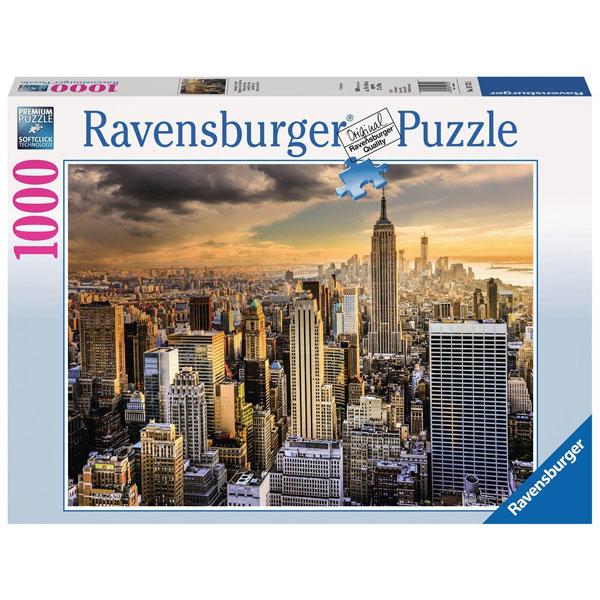 Ravensburger puzzle (slagalice) New York 1000pcs RA19712 - ODDO igračke