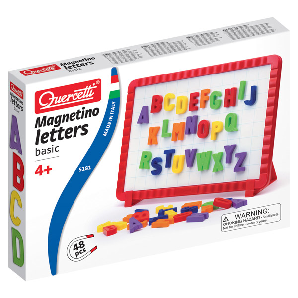 QUERCETTI Magnetna Tabla sa Slovima 5181 - ODDO igračke