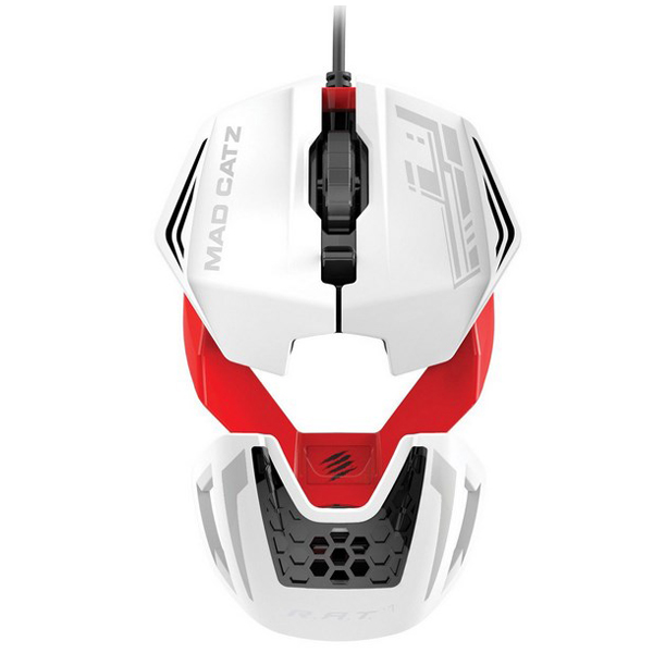 Mad Catz R.A.T.1 Wired Gaming Mouse - White/Red  - ODDO igračke