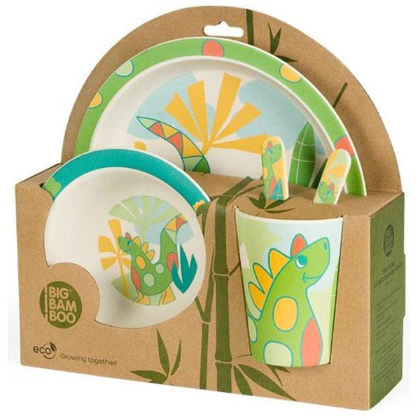 Set za jelo Dino BigBamBoo BB101-2 - ODDO igračke