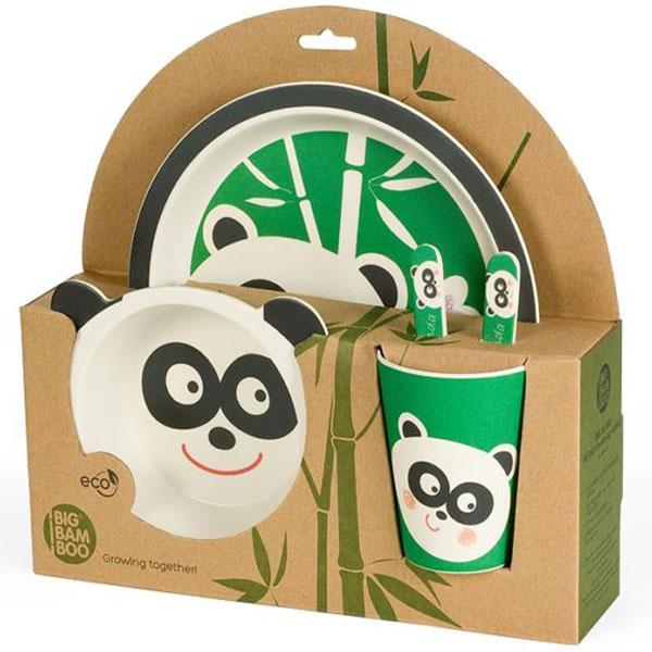 Set za jelo Panda BigBamBoo BB102-2 - ODDO igračke