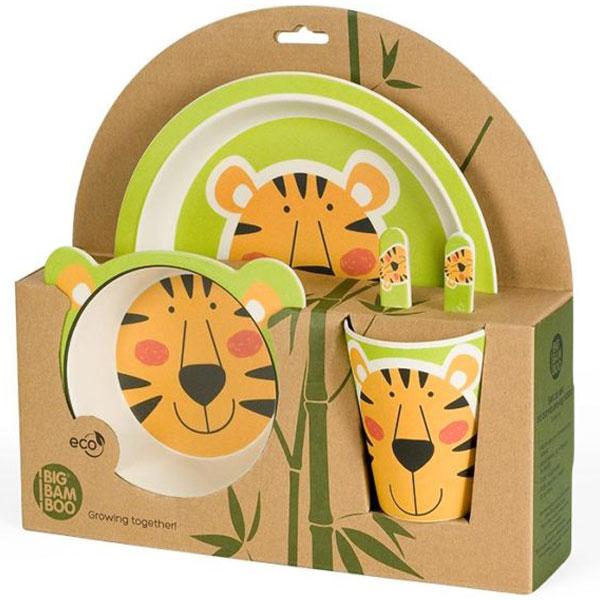 Set za jelo Tigar BigBamBoo BB102-3 - ODDO igračke