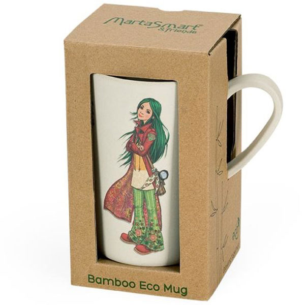 Šolja Marta Smart od bambusa BigBamBoo BB301-1 - ODDO igračke