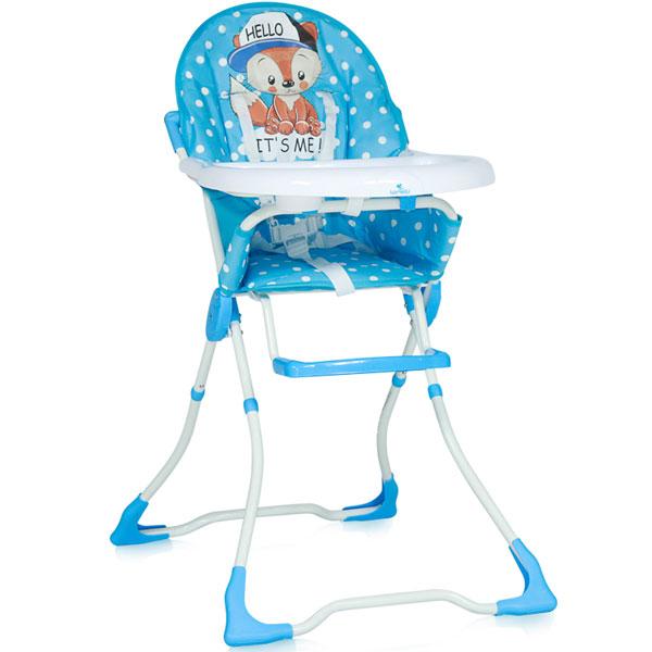 Stolica za hranjenje Marcel Blue Baby Fox 10100321820 - ODDO igračke