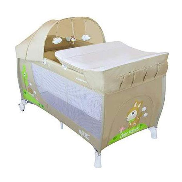 Prenosivi Krevetac My Forest 2 Nivoa Deer 31003010002 - ODDO igračke