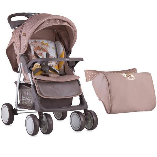 Kolica Foxy Beige&Yellow Happy Family 10020521803A - ODDO igračke
