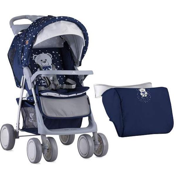 Kolica Foxy Dark Blue Teddy Bertoni 10020521832A - ODDO igračke