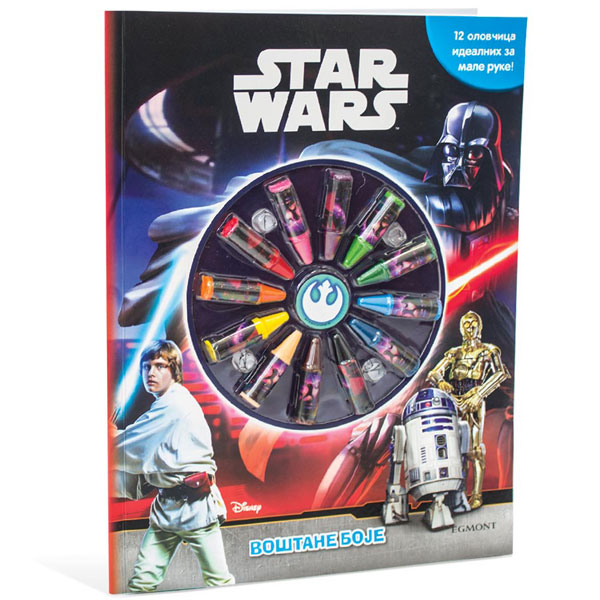 Voštane boje Boje Star Wars EGM1003 - ODDO igračke