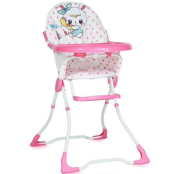 Stolica za hranjenje Marcel Pink Rabbit 10100321822 - ODDO igračke