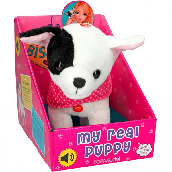 Pliš pas Bisou sa zvukom I senzorom My Real Puppy 7062 - ODDO igračke