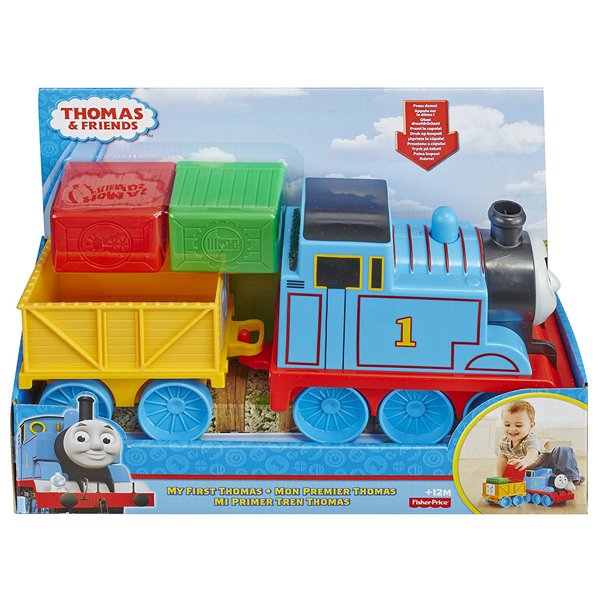 Fisher Price lokomotiva sa vagonom Thomas and Friends B/O BCX71 - ODDO igračke