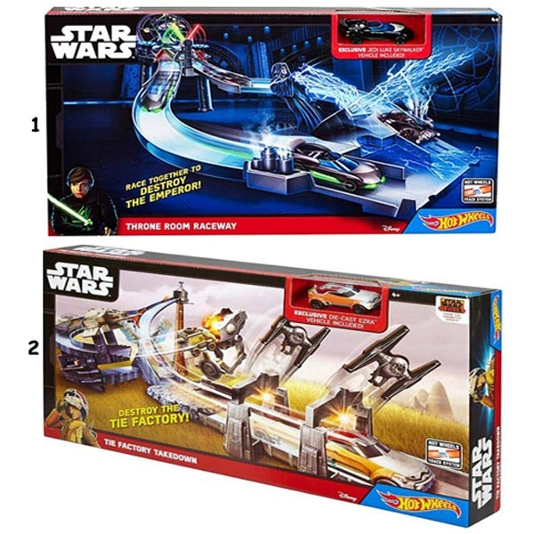 Hot Wheels staza Star Wars Throne Room Raceway CHB13 - ODDO igračke