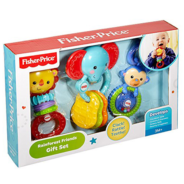 Fisher Price Rainforest Friends set zvecki za bebe DTD22 - ODDO igračke