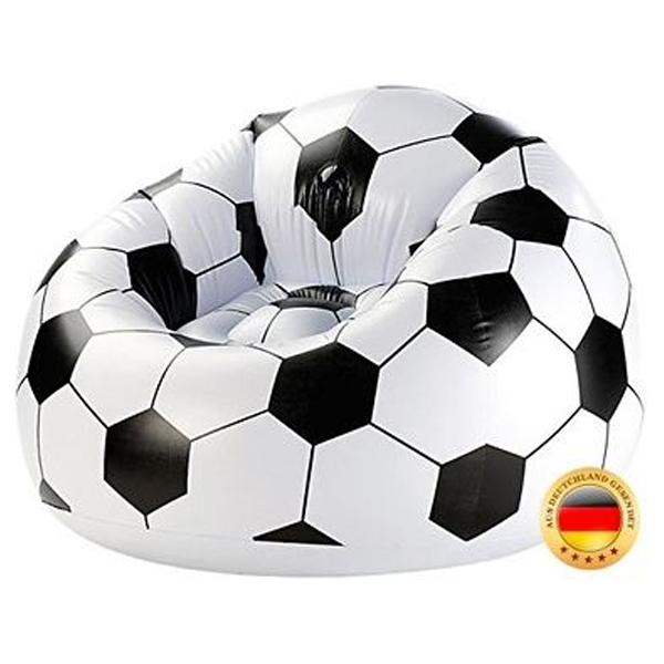 Fudbalska lopta Fotelja na duvanje 70x94x94cm max.100kg 9900298 - ODDO igračke