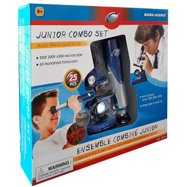 Mikroskop i durbina set Eastcolight 20341 - ODDO igračke