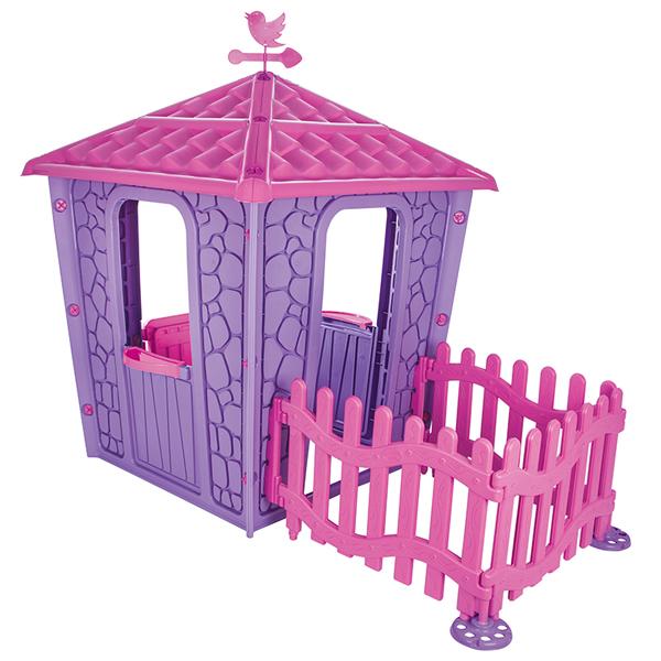 Kućice za decu Kamena kućica sa ogradom Pilsan T06443 - ODDO igračke