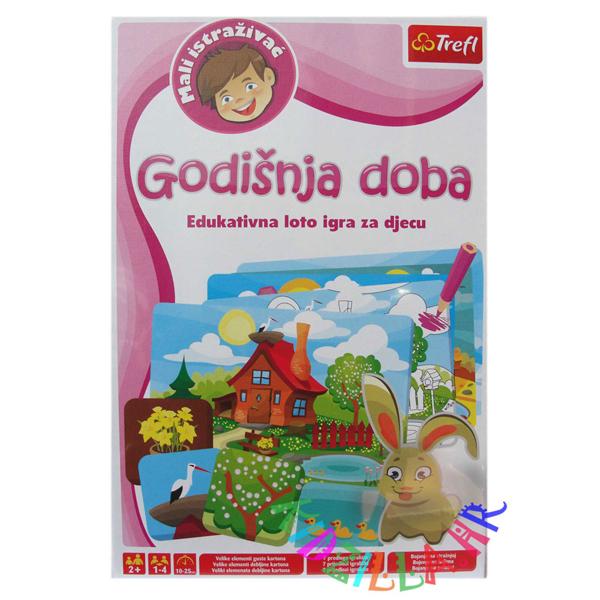 Trefl Godišnja doba Edukativna Loto igra za decu 01213 - ODDO igračke