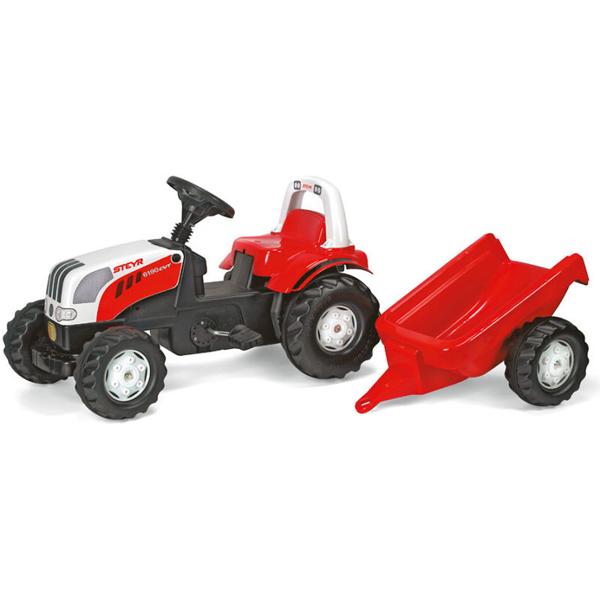 Traktor na pedale sa prikolicom Steyr Rollykid 012510 - ODDO igračke