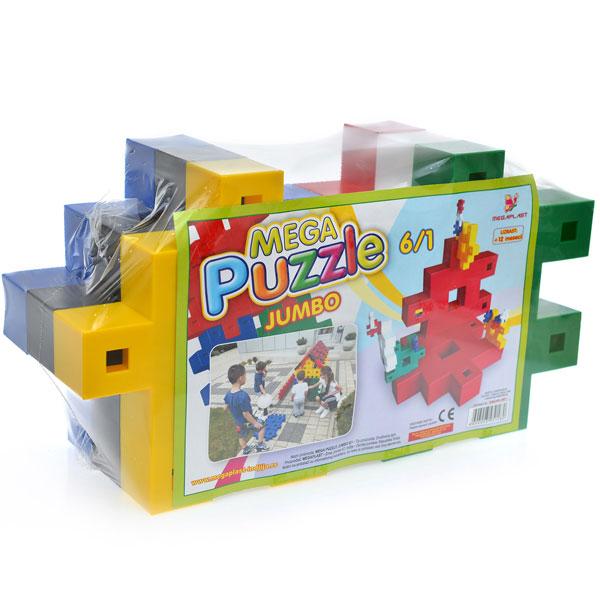 Megaplast puzzle jumbo 6/1 3951480 - ODDO igračke